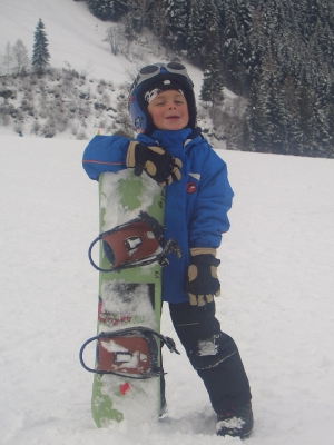 Mini Snowboarder